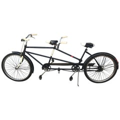 Classic 1950s Tandem Bike, Bicycle Built for Two by J C Higgins