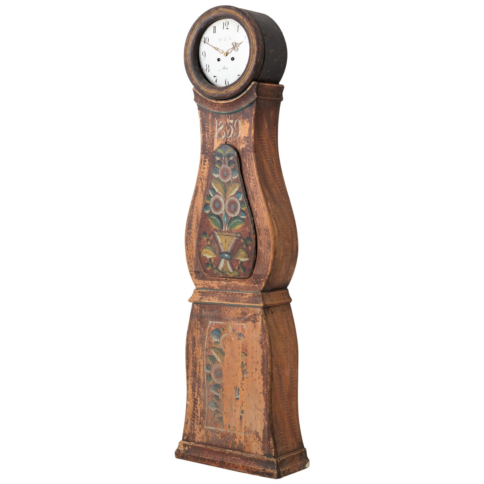 Classic 19th Century Swedish Mora Clock