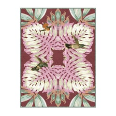 Classic and Bird Pink Rug