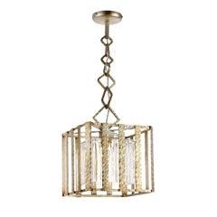 Classic Antique Silver Pendant Lamp