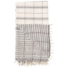 Handloom LEKHA Throw  / Blanket In Organic Cotton