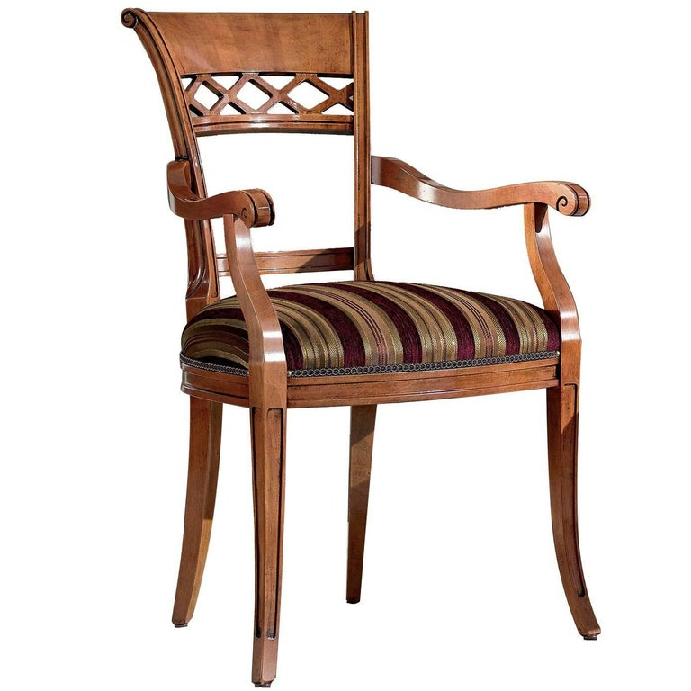Classic Baroque Dining Chair For Sale