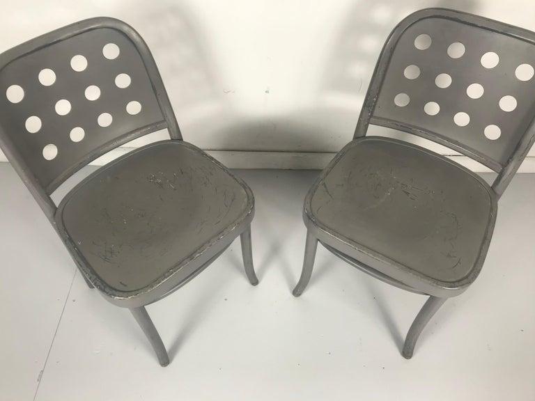 Classic Bauhaus Side Chairs 6010 Designed by Josef Hoffmann/ Oswald Haerdtl For Sale 3