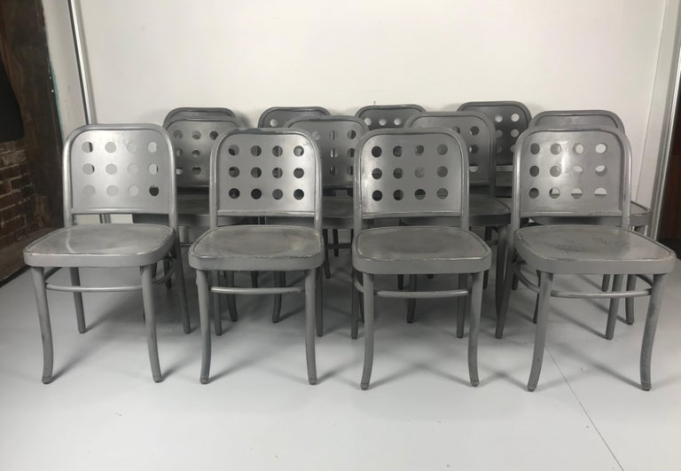 Classic Bauhaus Side Chairs 6010 Designed by Josef Hoffmann/ Oswald Haerdtl For Sale 1