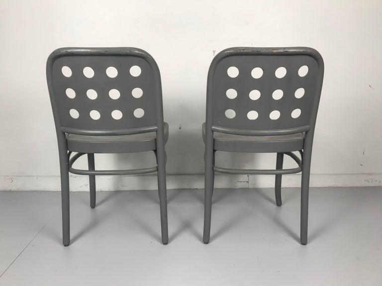 Classic Bauhaus Side Chairs 6010 Designed by Josef Hoffmann/ Oswald Haerdtl For Sale 2
