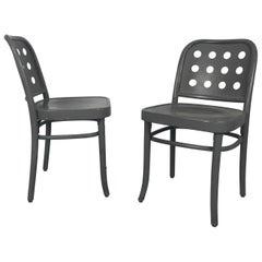 Classic Bauhaus Side Chairs 6010 Designed by Josef Hoffmann/ Oswald Haerdtl
