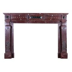 Classic Belgian Decorative Fireplace Surround