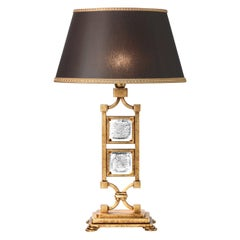 Classic Black and Gold Table Lamp