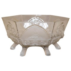 """Classic"" Bowl by Gillinder and Sons EAPG, circa 1875"