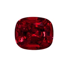 Classic Burma Red Spinel 5.13 Carat AGL Certified