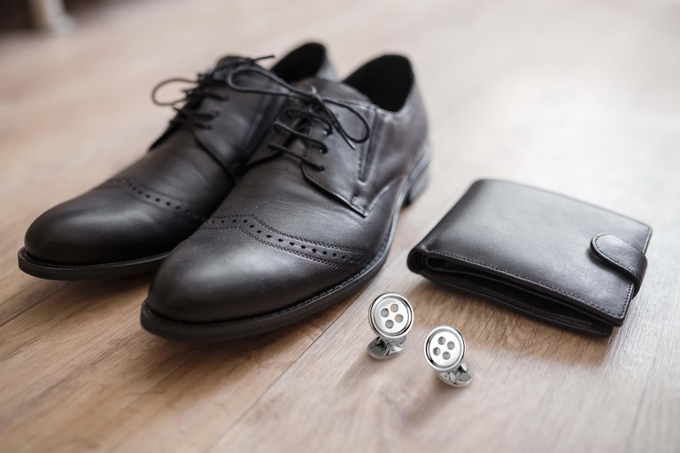 DEAKIN & FRANCIS, Piccadilly Arcade, London  All shirts come with buttons, but make yours stand out with these classic, highly polished button cufflinks that will last a life time. Exuding traditional elegance, these designs are a staple part of any