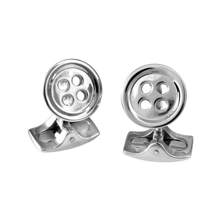 Deakin & Francis Classic Button Cufflinks For Sale