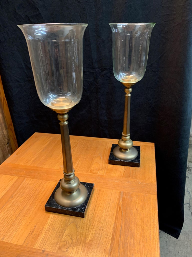 20th Century Classic Candle Torchieres For Sale