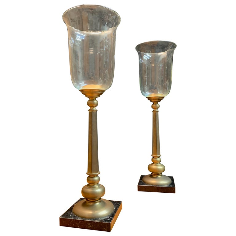 Classic Candle Torchieres For Sale