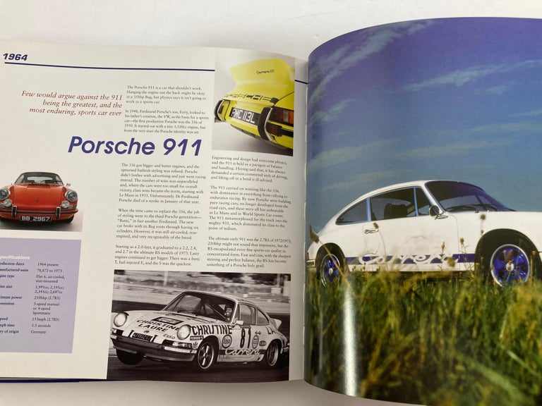 Classic Cars Celebrating the Legends 1901-1973 Book 2