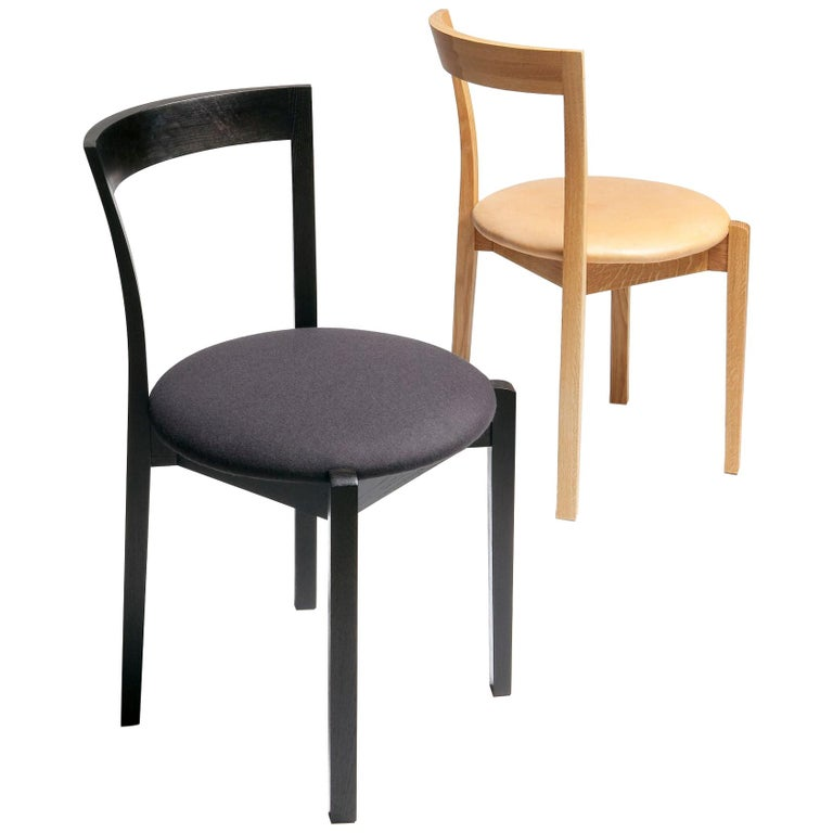 Classic Chair in Ash by Rudi Merz For Sale