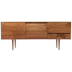 Classic Credenza in Walnut by Mel Smilow