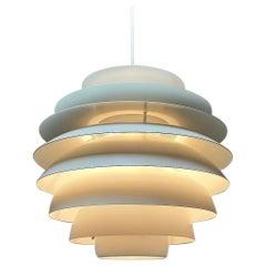 Classic Danish Ceiling Light Barcelona by Bent Karlby for Lyfa, Denmark, 1970s