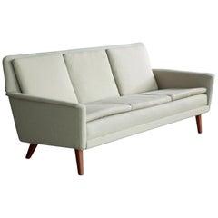 Classic Danish Midcentury Sofa by Folke Ohlsson for Fritz Hansen, 1950s
