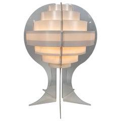 Classic Danish Pop 1960s /Space Age Flemming Brylle & Preben Jacobsen Table Lamp