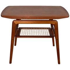 Classic Danish Side Table by Arne Hovmand-Olsen for Mogens Kold in Teak