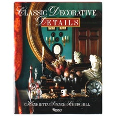 """Classic Decorative Details"" Book by Henrietta Spencer-Churchill"