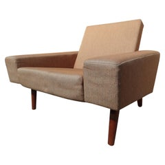 Classic Design Totally Original Retro, 1950 Danish Fabric Armchair