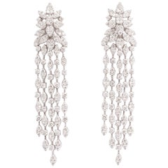Classic Diamond Dangle Earring
