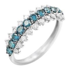 Classic Diamond White Gold Ring