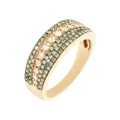 Classic Diamond Yellow Gold Ring