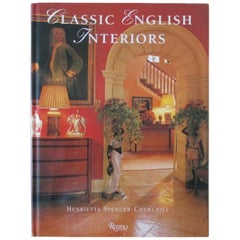 Classic English Interiors Hardcover Book