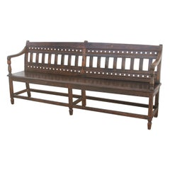Classic Example of a Colonial Era Bench from the British Empire