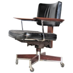 Classic Executive Desk Chair by Gunlocke
