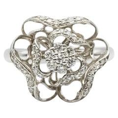 Classic Fancy Diamond Impressive Ring
