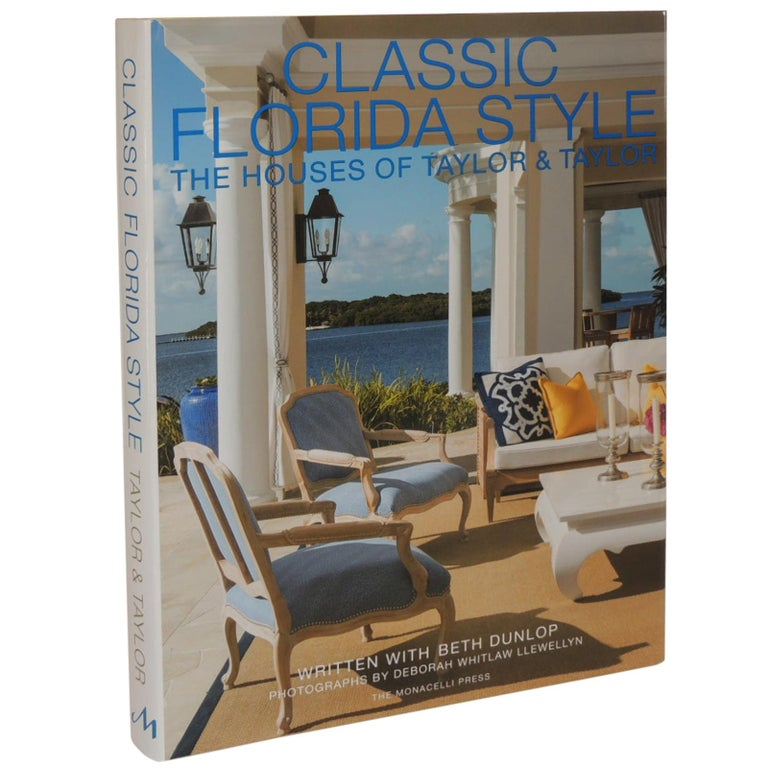 Classic Florida Style the Houses of Taylor & Taylor Coffee Table Book For Sale