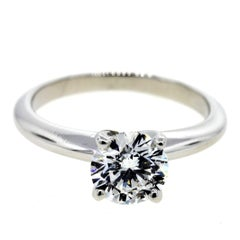 Classic Four Prong Knife Edge Solitaire Engagement Ring 'GIA'