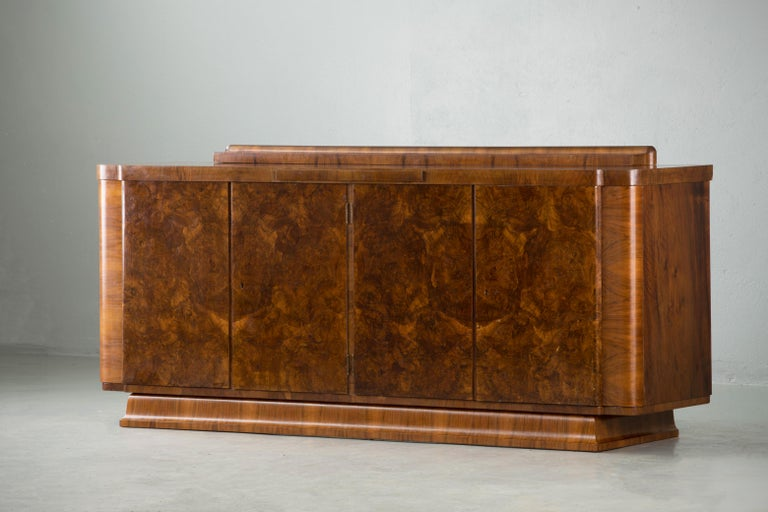 Large & Luxurious French Art Deco Buffet, 1930s 4