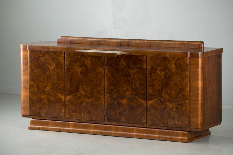 Large & Luxurious French Art Deco Buffet, 1930s 6