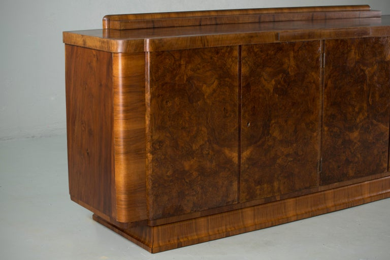Large & Luxurious French Art Deco Buffet, 1930s 9