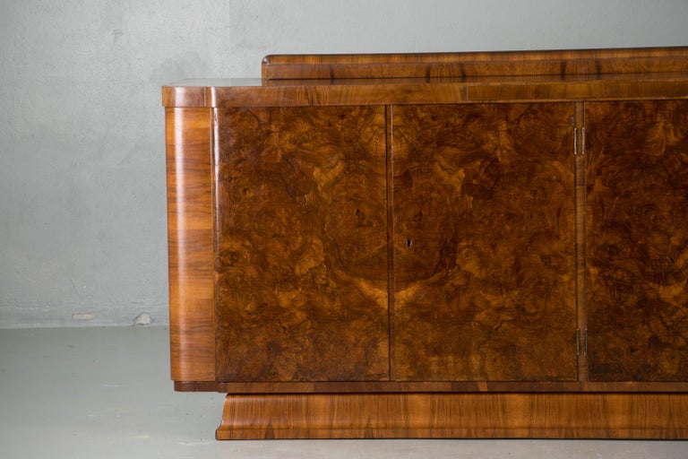 20th Century Large & Luxurious French Art Deco Buffet, 1930s