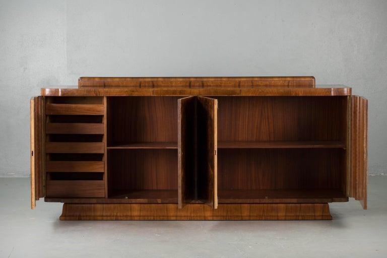 Burl Large & Luxurious French Art Deco Buffet, 1930s
