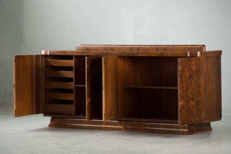 Large & Luxurious French Art Deco Buffet, 1930s 2