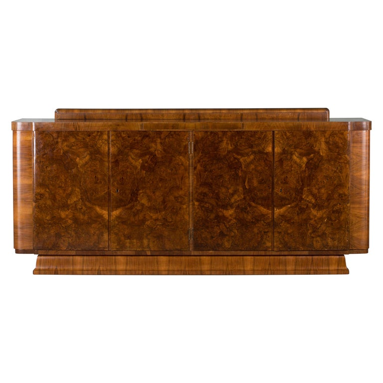 Large & Luxurious French Art Deco Buffet, 1930s