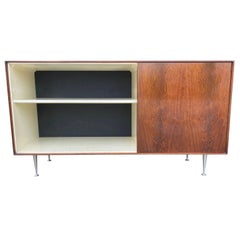 Classic George Nelson Rosewood Thin Edge Cabinet, Herman Miller