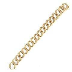 Classic Groumette Bracelet 18 Karat Pink Gold