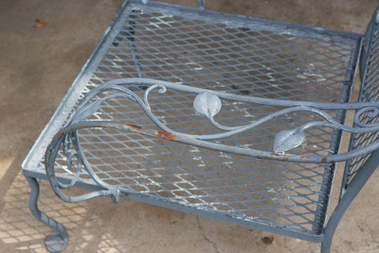 Classic High Quality Salterini Wrought Iron Garden Chair 6