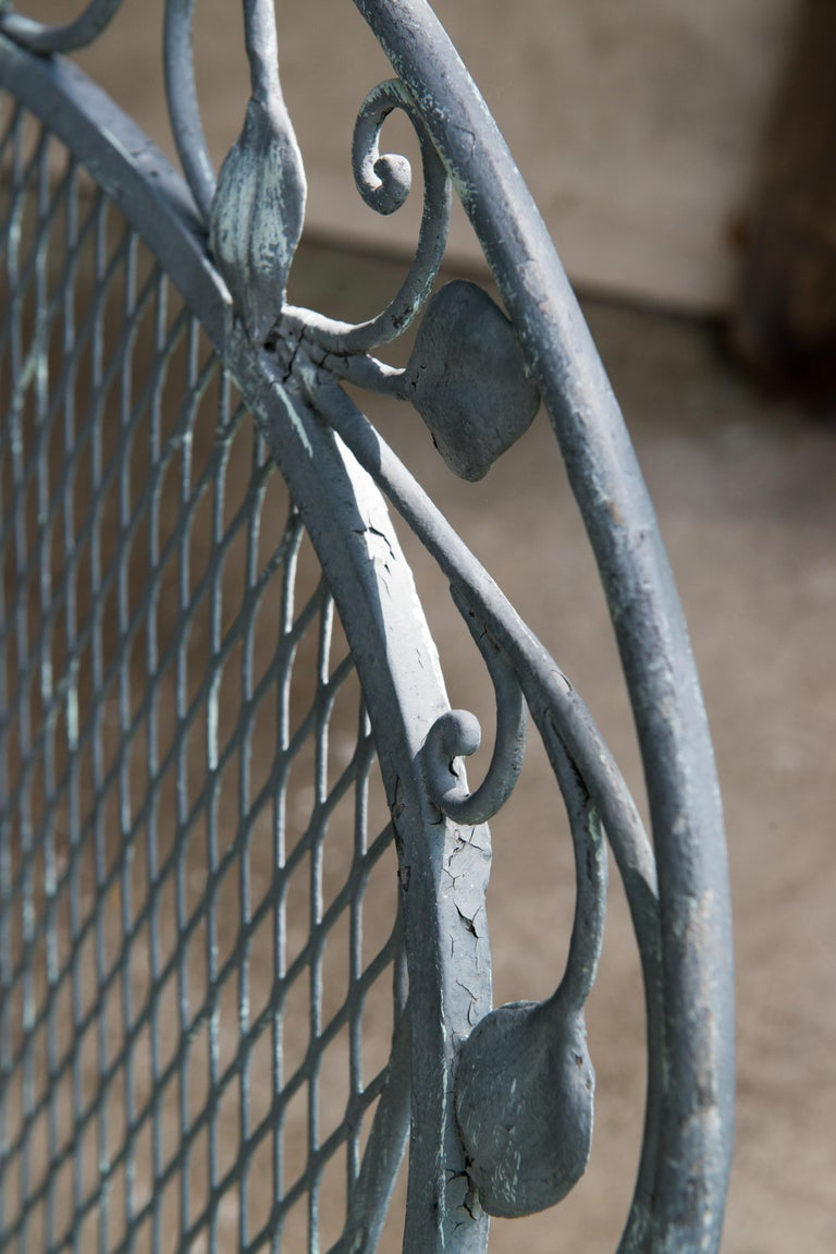 Classic High Quality Salterini Wrought Iron Garden Chair 8