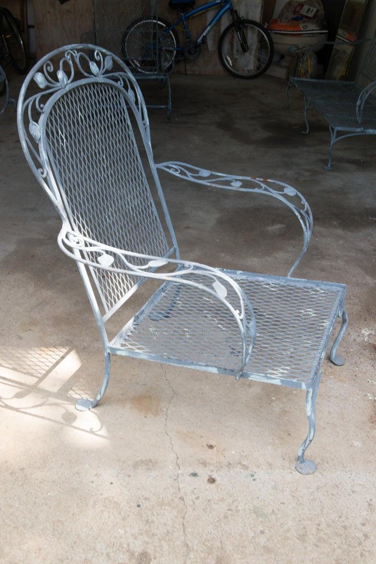 Classic High Quality Salterini Wrought Iron Garden Chair 1