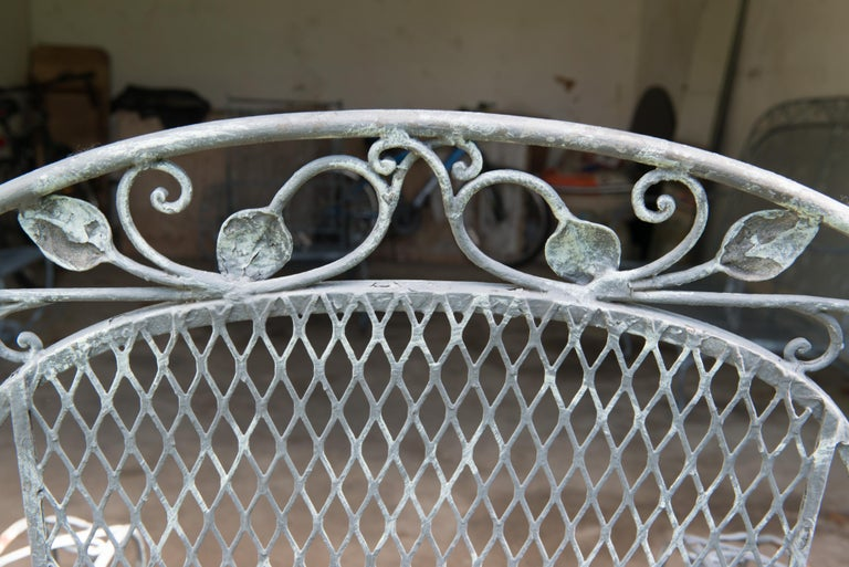 Classic High Quality Salterini Wrought Iron Garden Chair 3