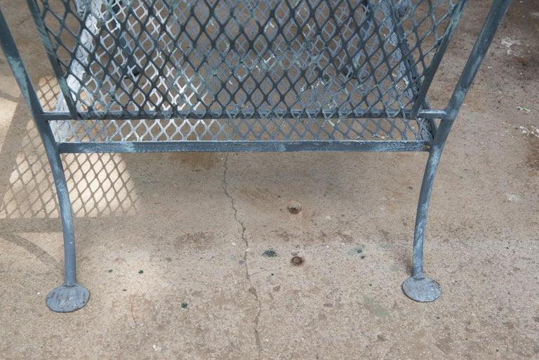 Classic High Quality Salterini Wrought Iron Garden Chair 4
